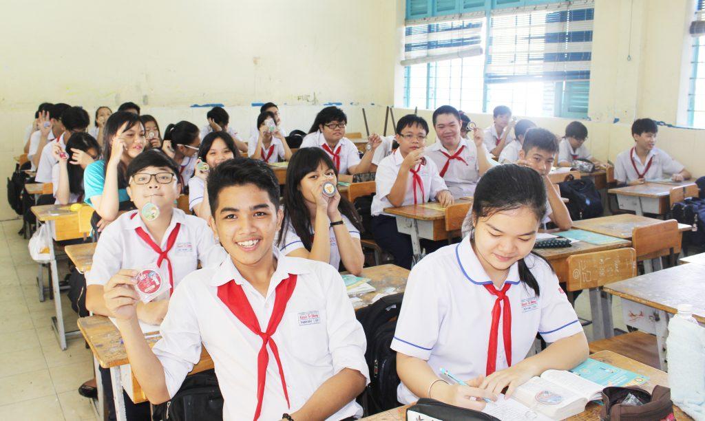 Học sinh lớp 9