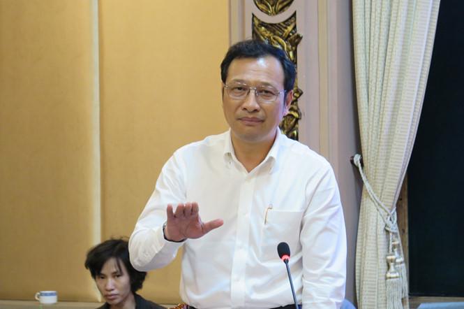 Ông Lê Hoài Nam phát biểu tại cuộc họp /// Ảnh: Trung Hiếu