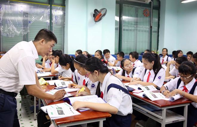 Học sinh lớp 9 cần bổ sung kiến thức thực tế để chuẩn bị cho kỳ thi lớp 10 /// Ảnh: Ngọc Dương